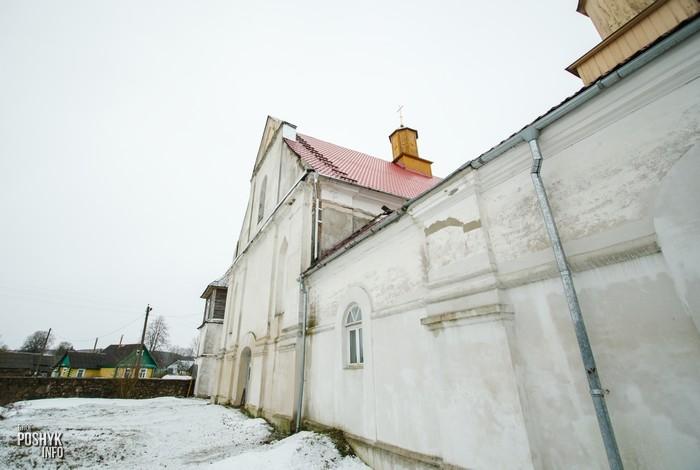 Успенская Церковь в деревне Плебань