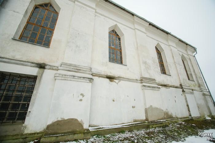 Церковь в деревне Плебань