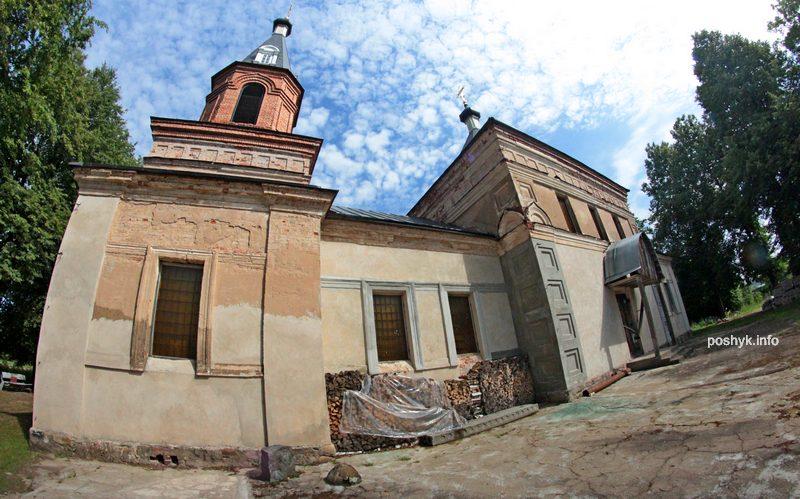 церковь Троицкая д. бытча