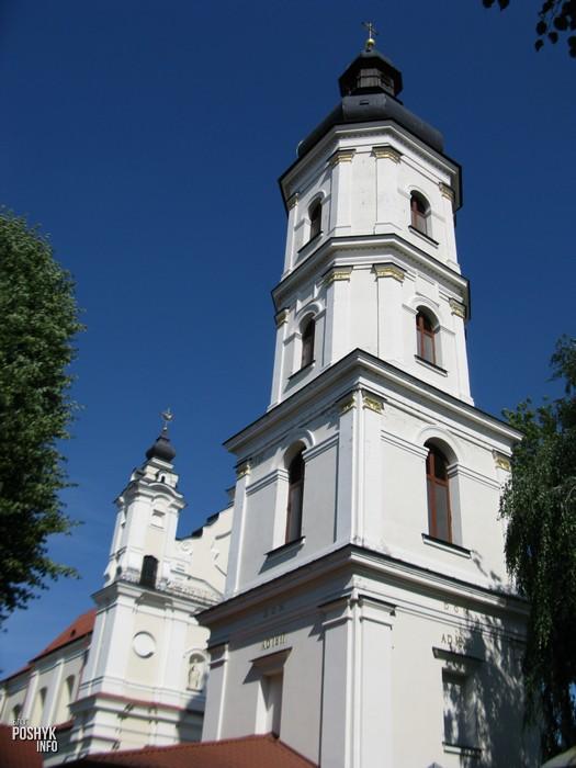 Колокольня монастыря в Пинске