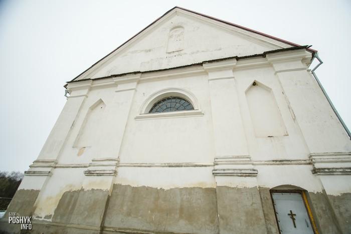 Костел Плебань в Беларуси
