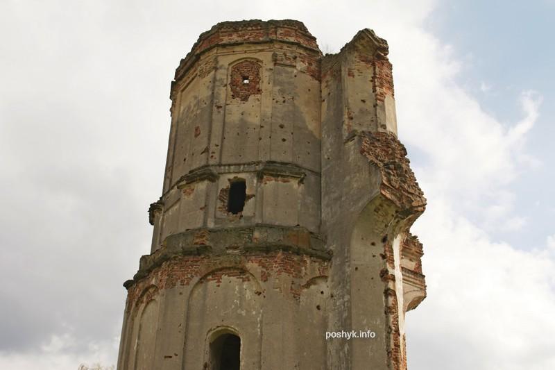 руины костела в березе