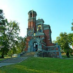 Часовня-усыпальница в Мире (Святополк-Мирских)