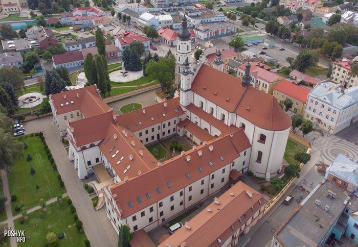 История монастыря францисканцев в городе Пинск