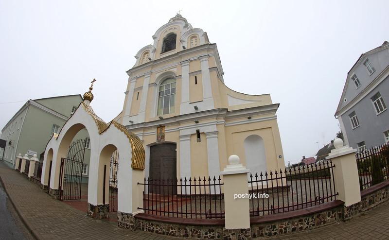 церковь николая в новогрудке фасад