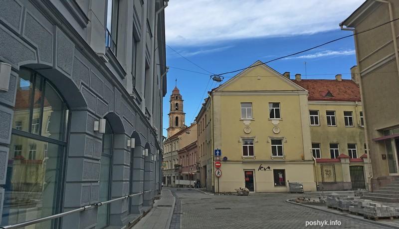 прогулка по Вильнюсу
