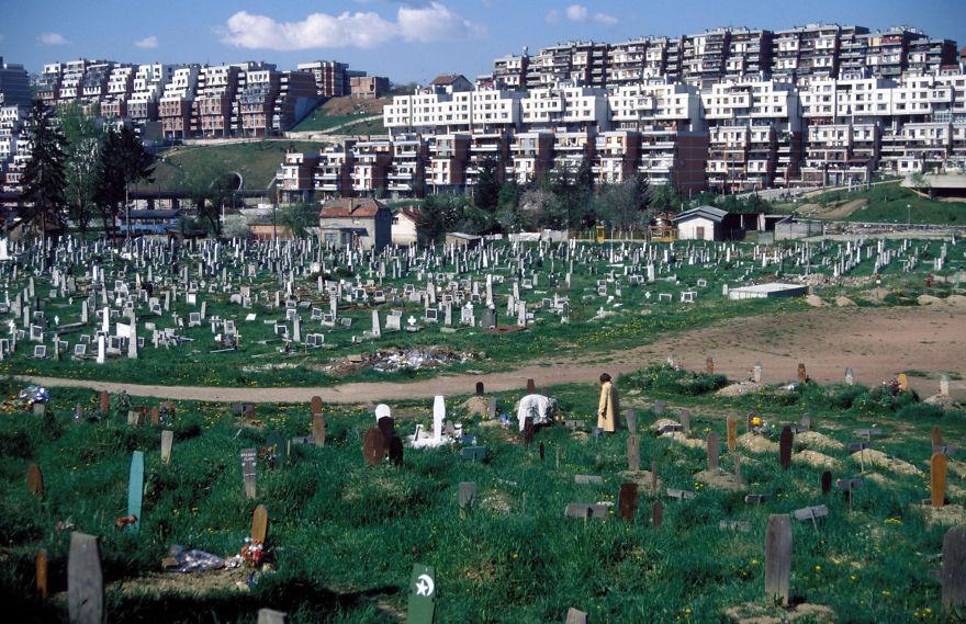 Кладбище на территории бывшей площадки Сараево (Зимние олимпийские игры 1984 г)