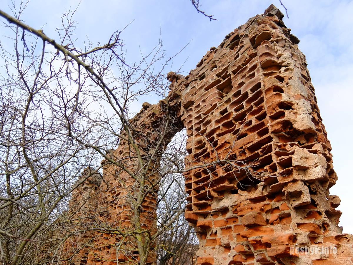 д. новый свержень руины синагоги