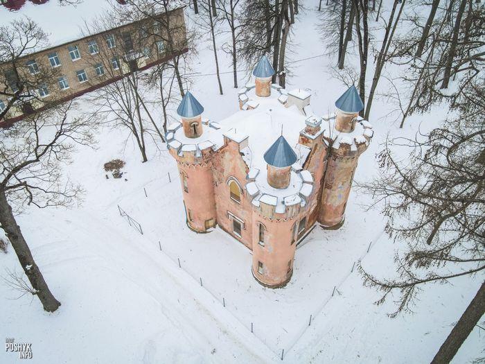 Библиотека Чапских в Станьково