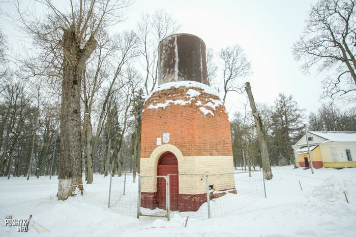 Водонапорная башня в Станьково