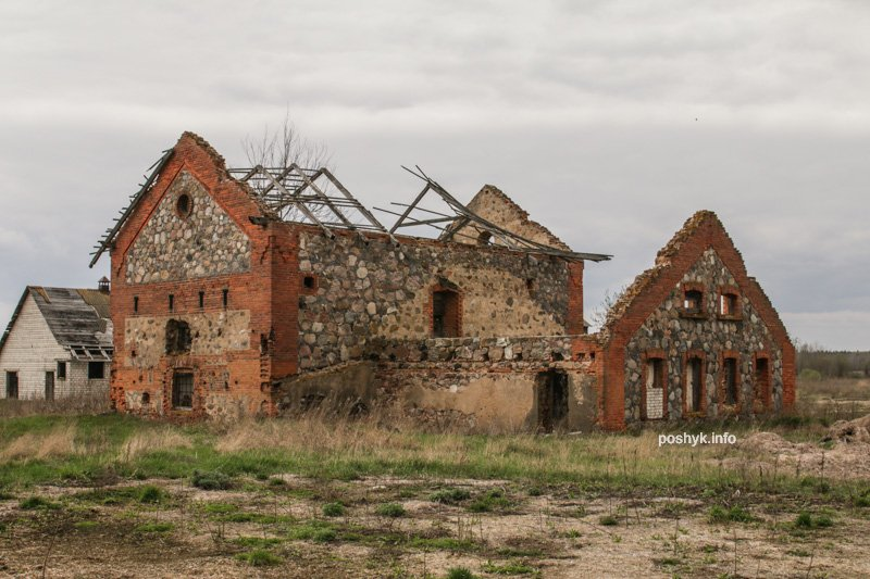 руины бровара