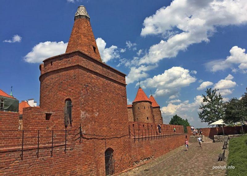 Оборонительные стены Варшава
