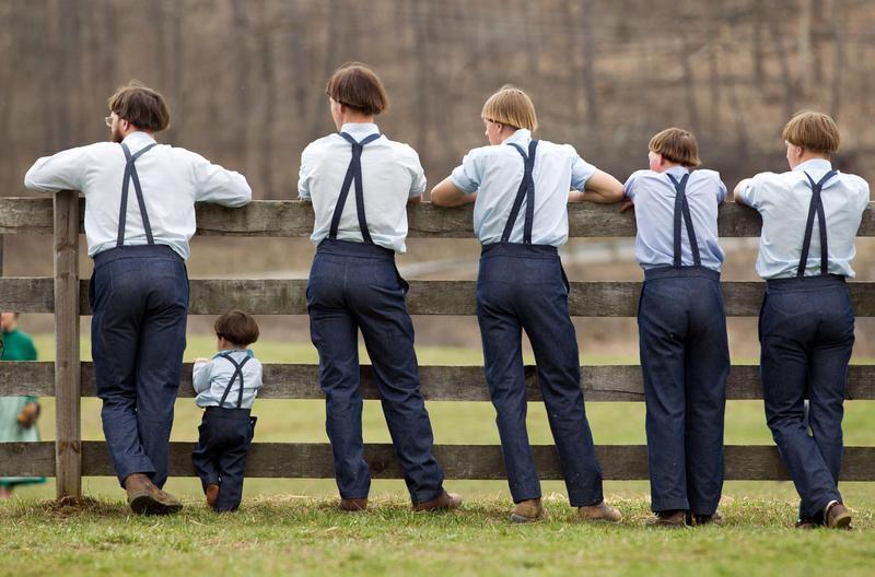 амиши мужчины