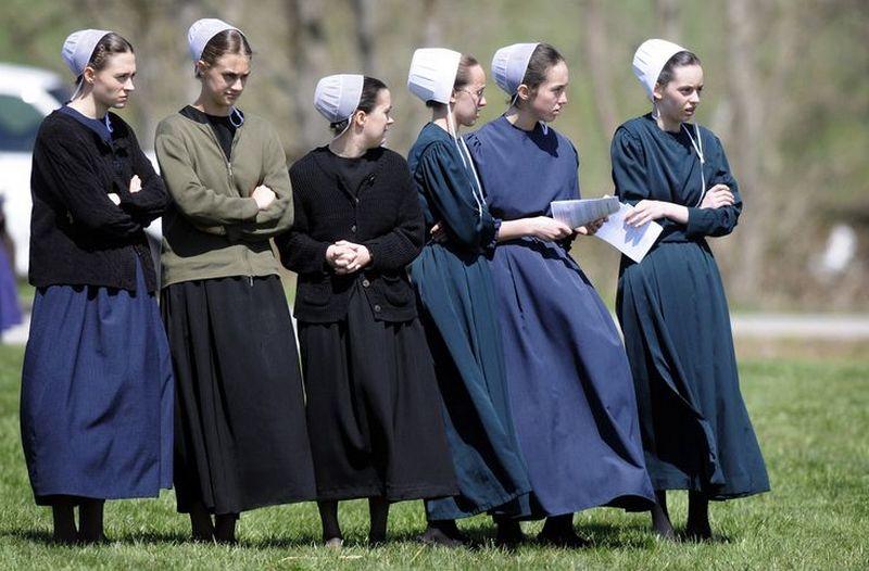 одежда амишей