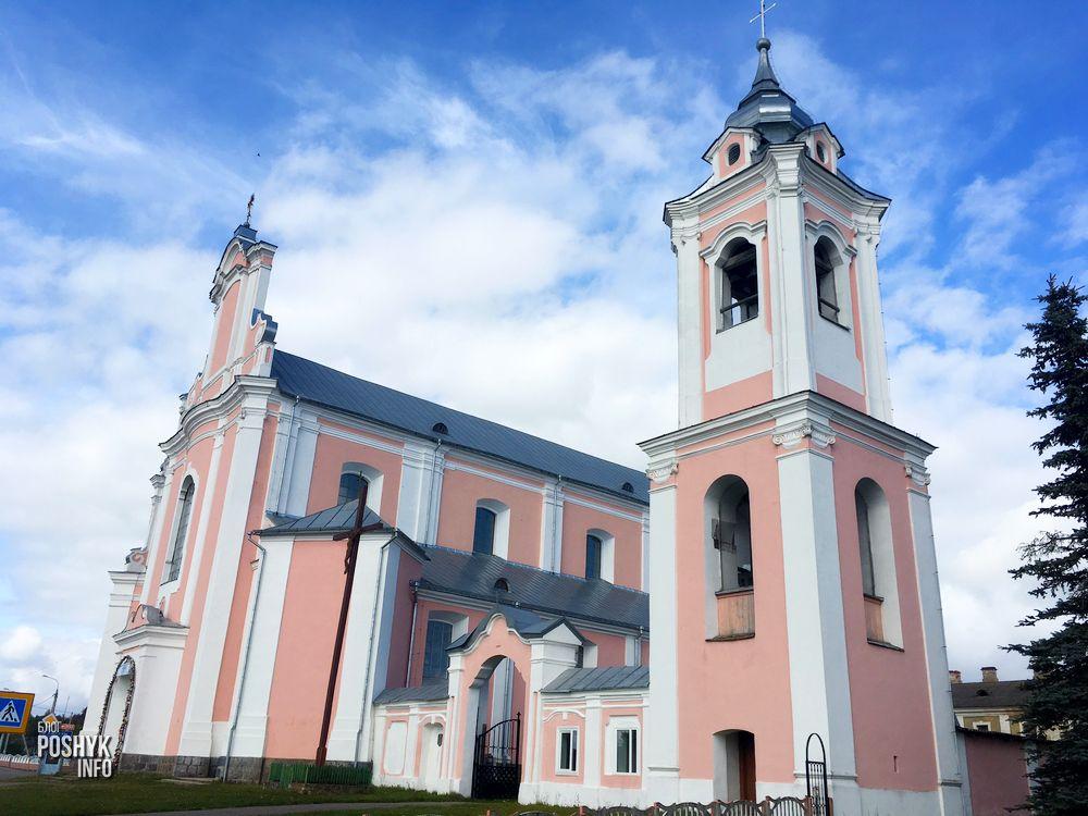 Костел в Борунах