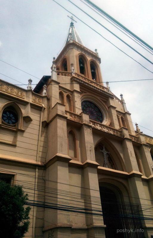 Костел в Ла-Пасе Боливия