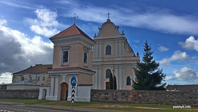 Костел в Гольшанах