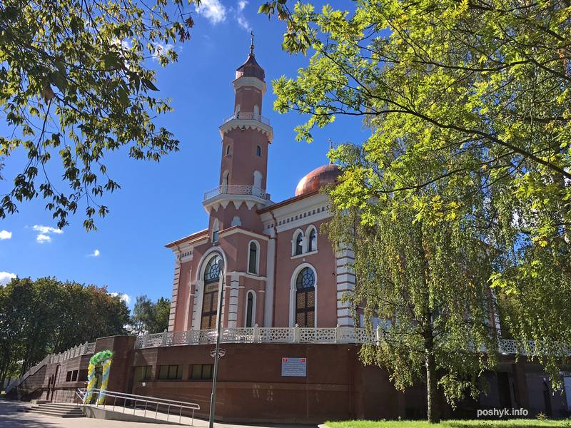 мечеть в Минске