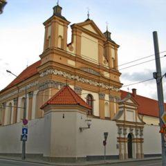 Бригитский костёл в Гродно (Монастырь бригиток)