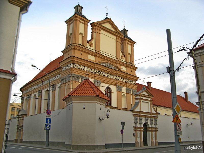 Бригитский костёл в Гродно