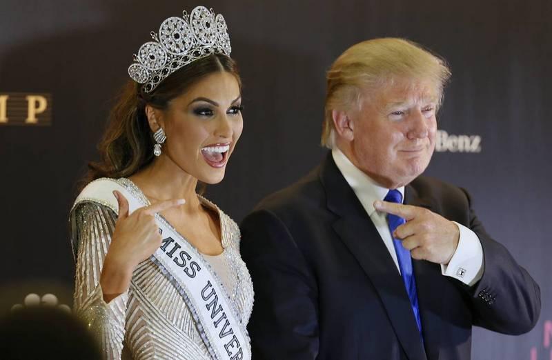 дональд трамп и мисс вселенная