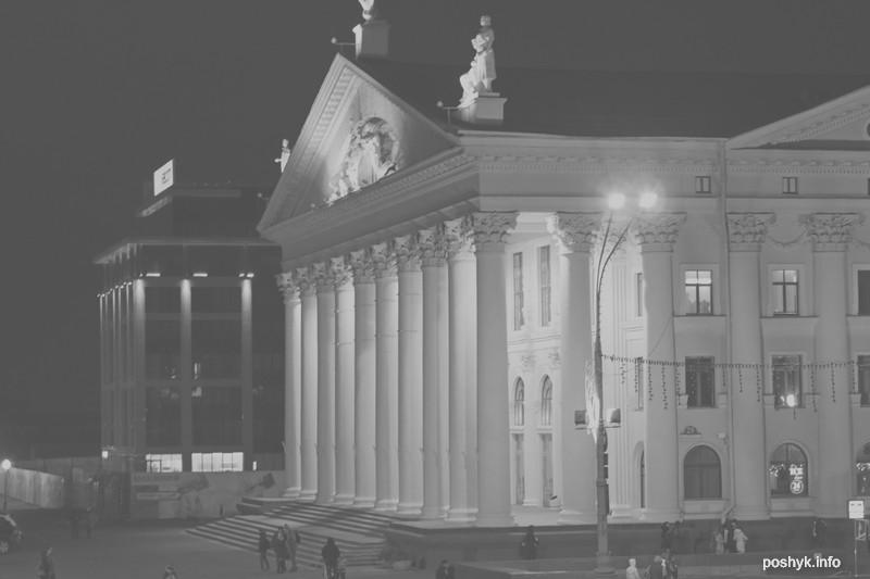 Октябрьская площадь в Минске