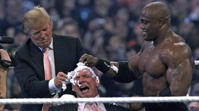 рестлинг и дональд трамп