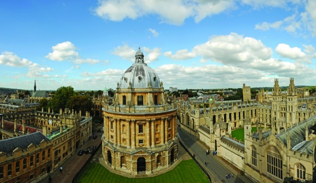 бодлианская библиотека в оксфорд