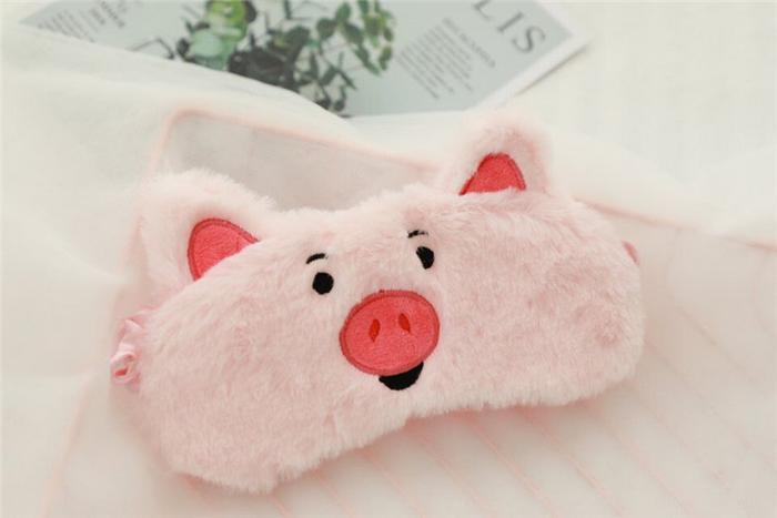 маска для сна свинка