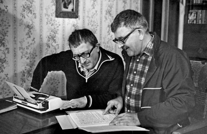 братья стругацкие писатели фантасты