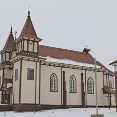 Костёл святого Юрия в деревне Полонечка