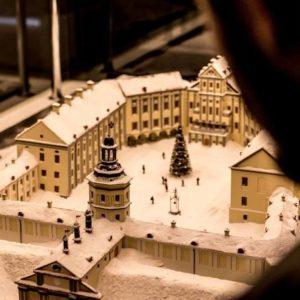 несвижский замок миниатюра