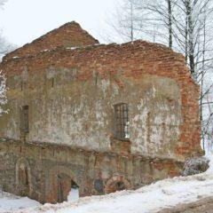 Полонечка – руины водяной мельницы 1819 года