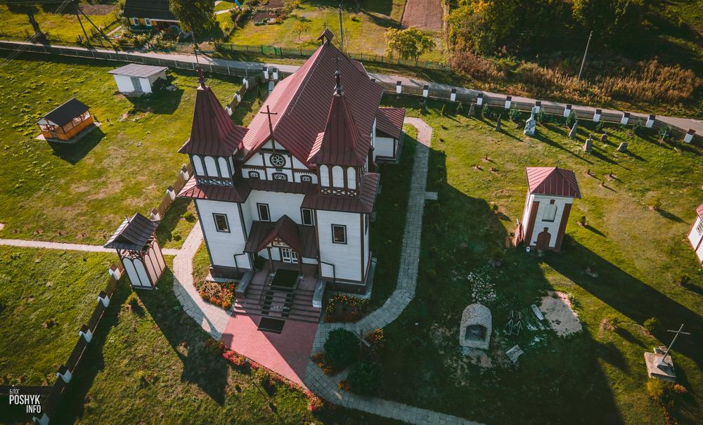 Юрьевский костел в деревне Полонечка