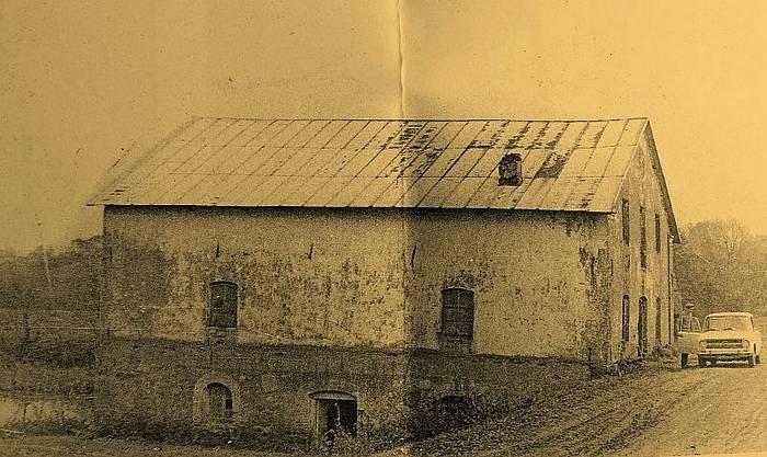 старое фото деревня полонечка