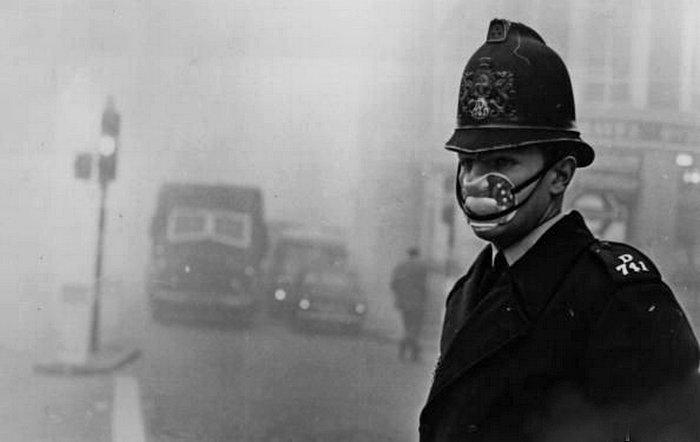 Губительный лондонский смог