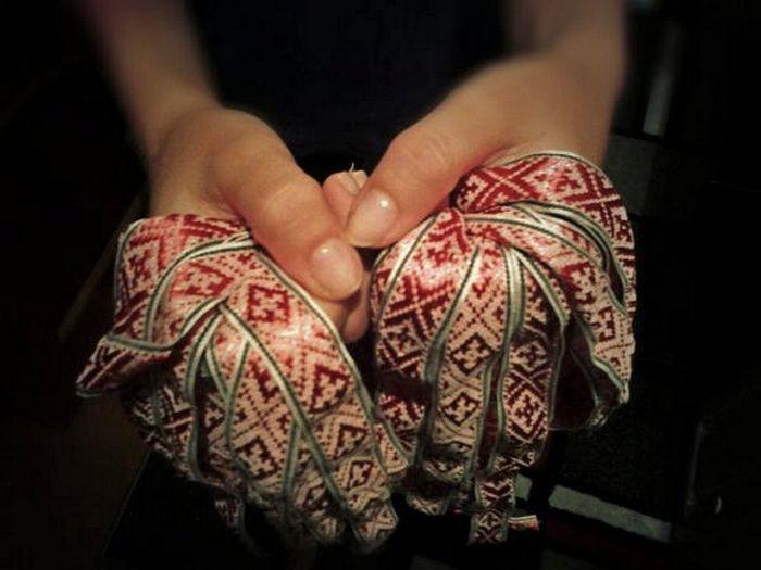 Символы белорусского орнамента