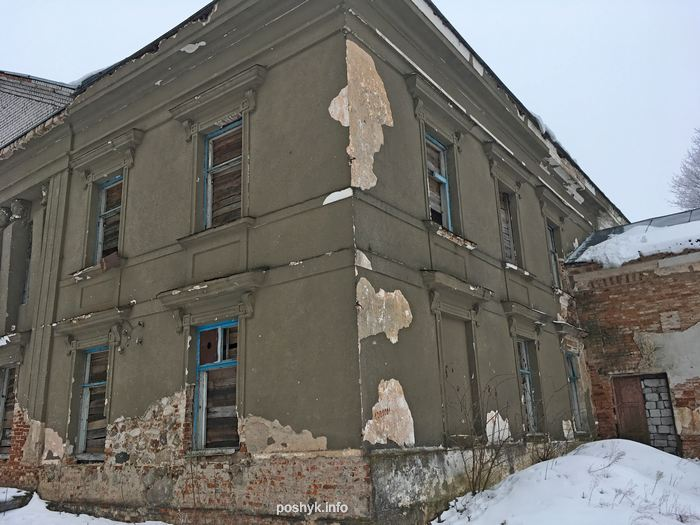 ruins polonechka usadba