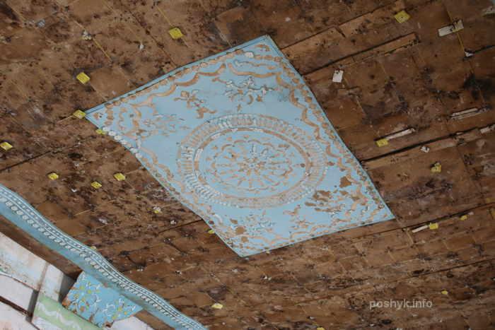 усадьба Радзивиллов потолок
