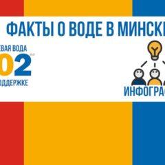 10 фактов о воде в Минске (совместно с питьевой водой 202)