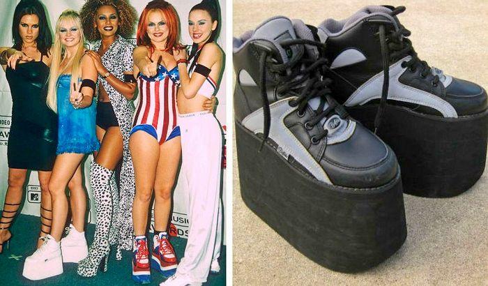 обувь которую носили в 90ые