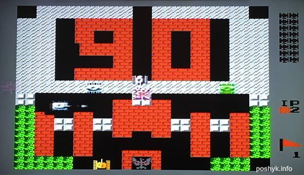 игра на денди tank 1990