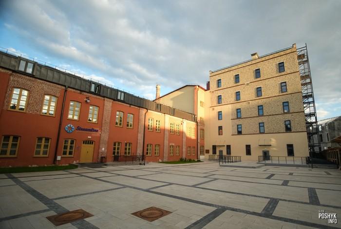 Здание бывшего хлебзавода на Раковской