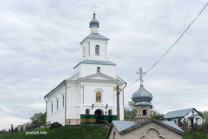 церковь в деревне снов