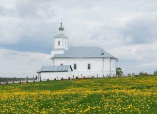 Церковь Святых Космы и Дамиана в агрогородке Снов