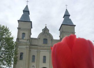 Костел Святого Иоанна Крестителя в агрогородке Снов