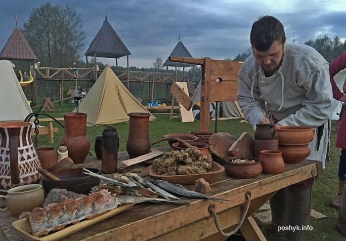лагерь викингов