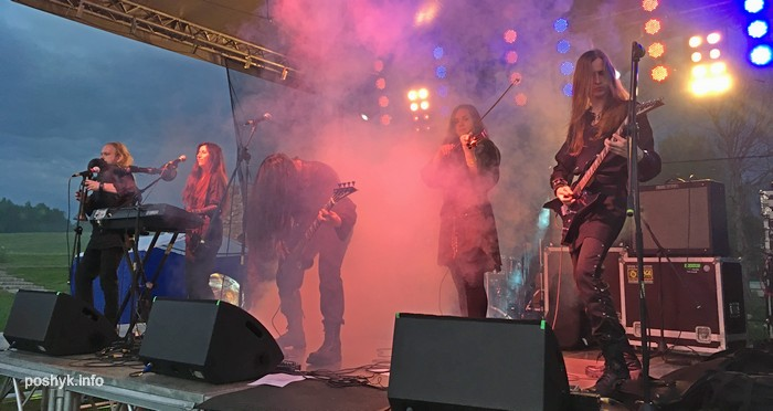 музыкальные группы на фестивале