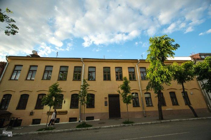 Улица Раковская 18 в Минске