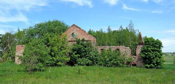 Заброшенный Бровар в деревне Засулье
